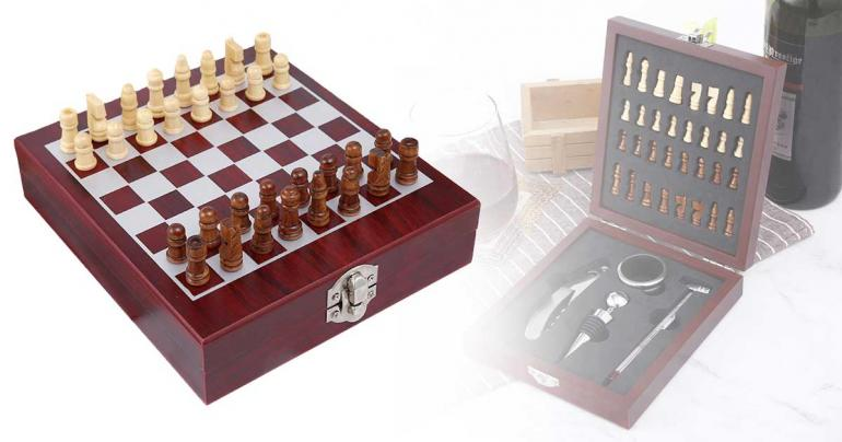 Vinset med schack på Digdeal.se