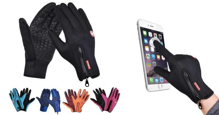 Touch-handskar på Digdeal.se