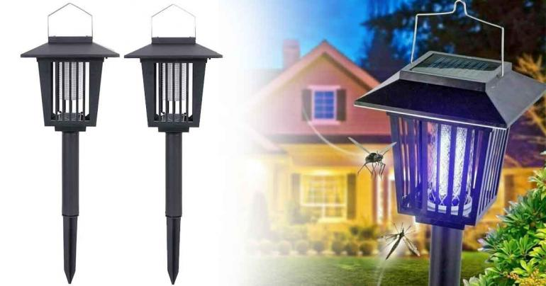2 in 1 LED-ljus med insektsfälla på Digdeal.se