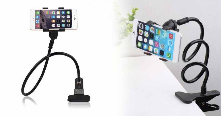 Mobilhållare, utmärkt till b.l.a. videosamtal på Digdeal.se