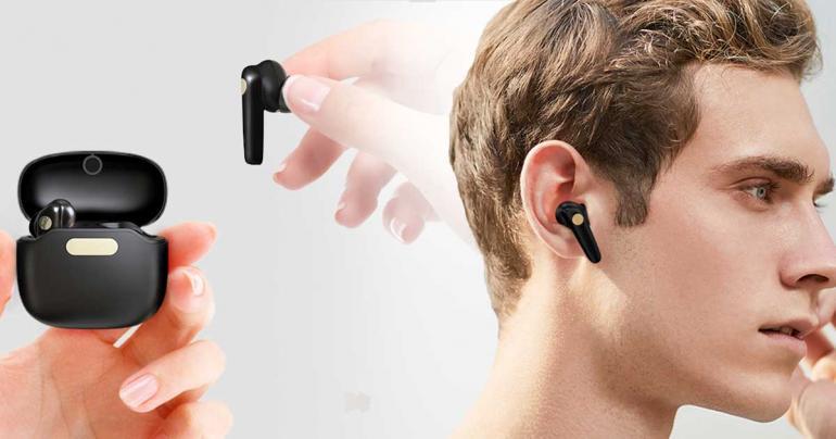 Trådlösa hörlurar T15 Airdots. Välj mellan svarta eller vita. på Digdeal.se