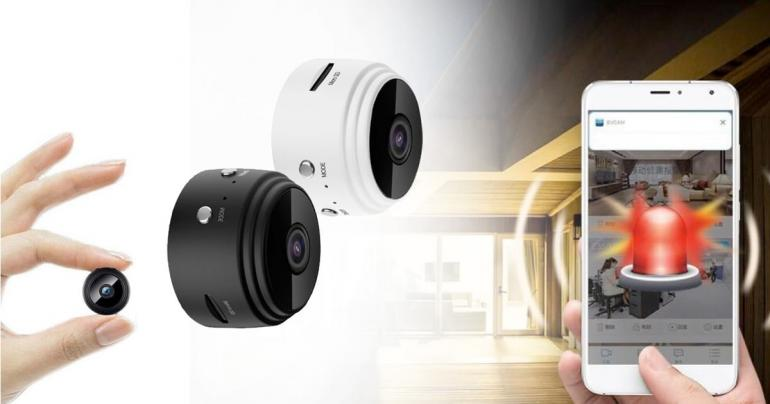 Mini Wifi-kamera på Digdeal.se