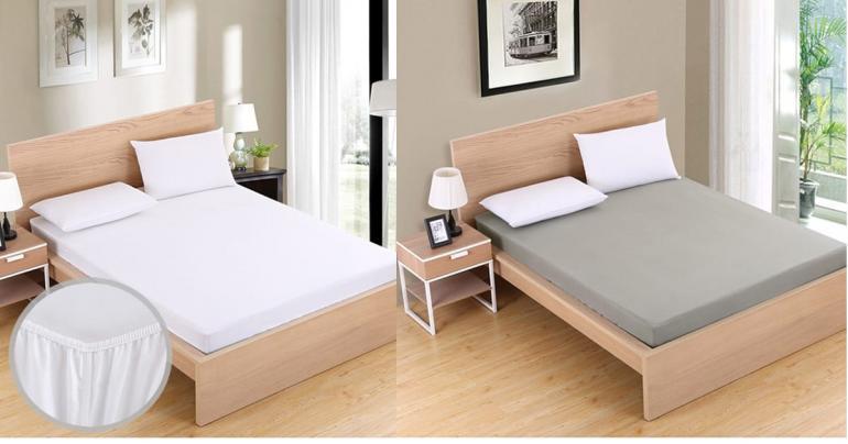 Sov gott i mjuka dra-på-lakan på Digdeal.se