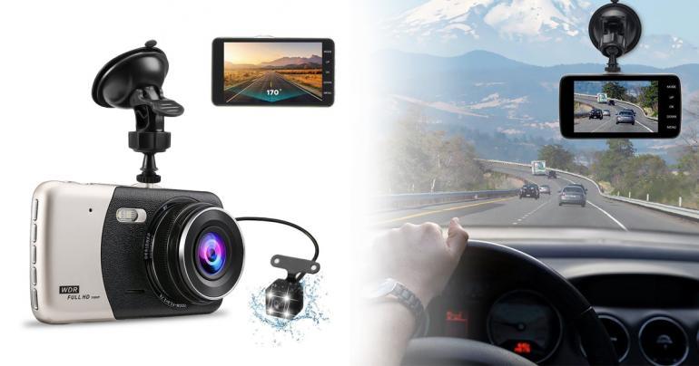 Bilkamera inklusive backkamera på Digdeal.se