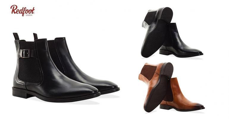 Klassiska Chelsea boots i herrmodell