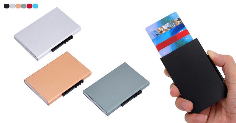 Automatisk korthållare med RFID-skydd på Digdeal.se