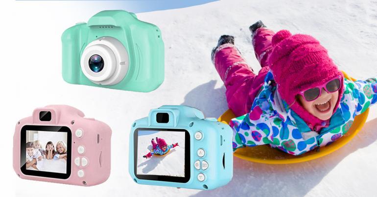 Digitalkamera för barn med videoinspelning på Digdeal.se