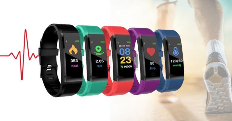 15-in-1 Smartklocka & fitnessarmband - 5 färger