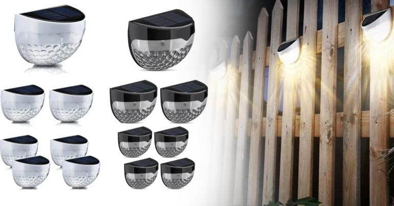Solcellslampor med LED-ljus på Digdeal.se